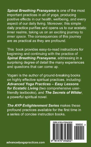 Spinal Breathing Pranayama - Journey to Inner Space: (AYP Enlightenment Series)