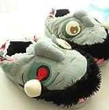 Zombie Floor Shoes Indoor Skid Slippers Halloween Toys