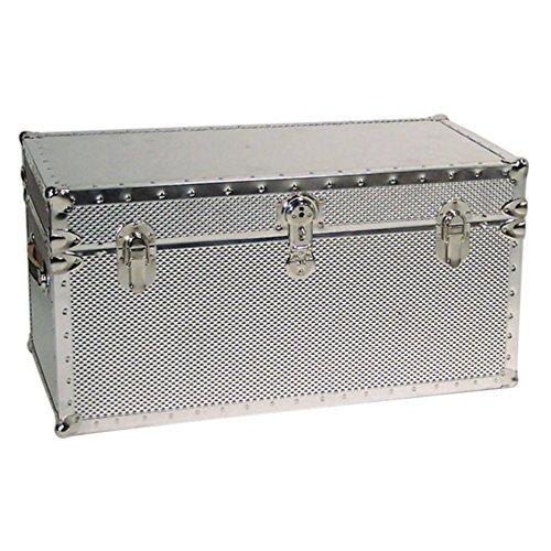 seward-trunk-embossed-steel-storage-trunk-with-locker-silver-one-size