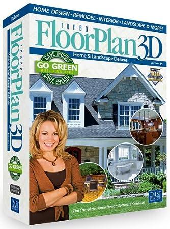 Floorplan 3D Home & Landscape Deluxe V14
