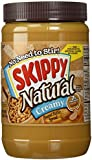 Skippy Peanut Butter, Natural Creamy, 40 Ounce