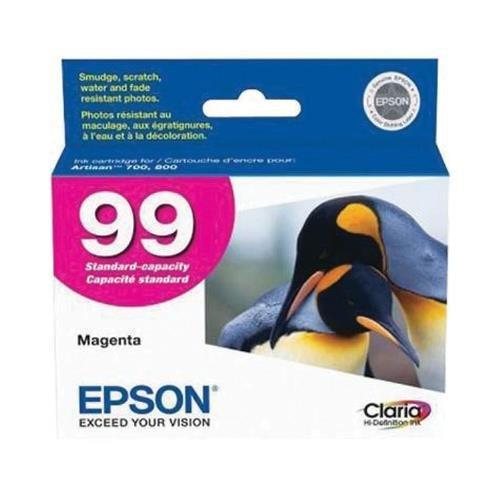 Epson T099320 OEM Ink - (99) Artisan 700 710 725 730 800 810 835 837 Claria Hi-Definition Magenta Ink OEM (Epson 99 Ink Magenta compare prices)