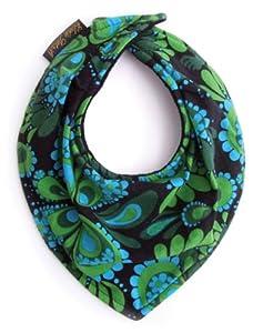 ELODT 103436 - Babero, diseño de flores en BebeHogar.com