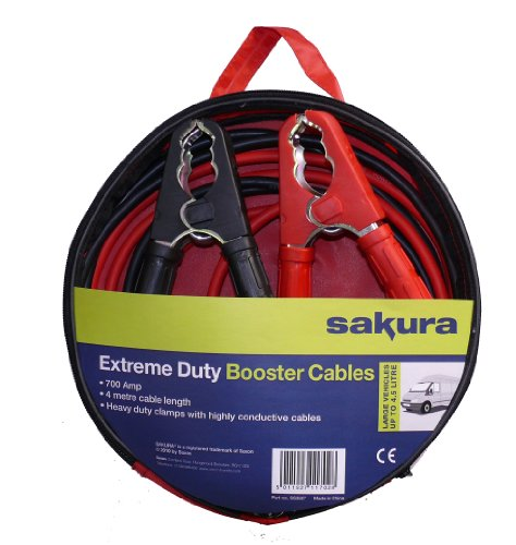 Sakura SS3627 700A 4m Booster Cables