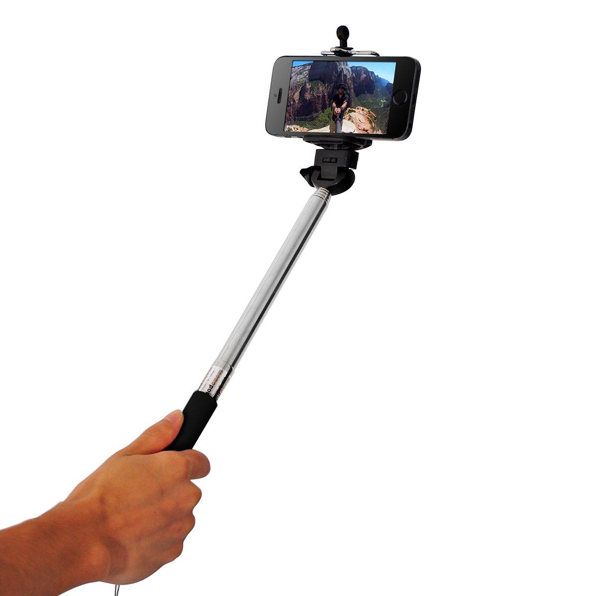 Autodisparador Selfies con botón