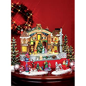 Lemax Village Collection A Christmas Carol Play with Adaptor # 45734 by Lemax