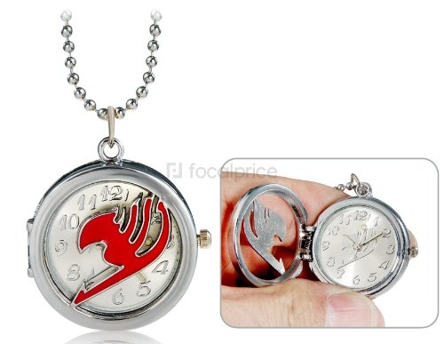 Frogwill Anime Fairy Tail Design Necklace Watch