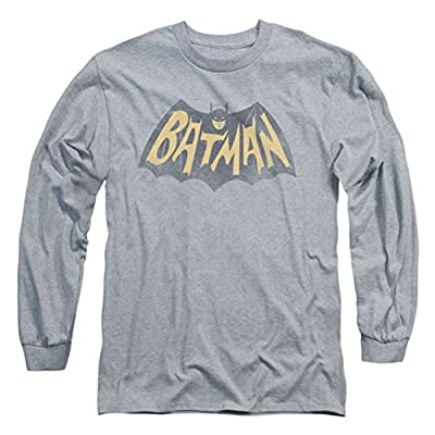 Batman Classic TV Show Logo Long Sleeve T-Shirt