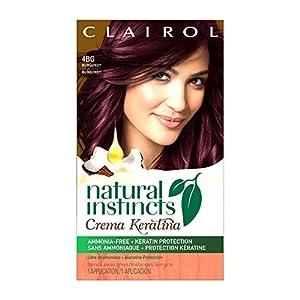 Amazon.com : Clairol Natural Instincts Crema Keratina Hair Color Kit