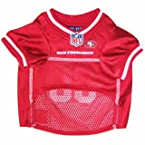 Pets First NFL San Francisco 49ers Jersey, Small