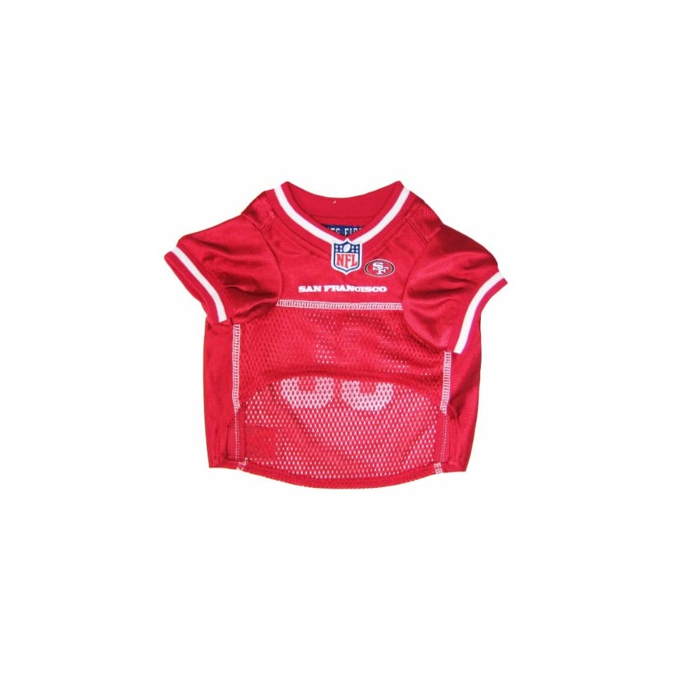 Pets First NFL San Francisco 49ers Jersey, X Small  Sports Fan Pet T Shirts