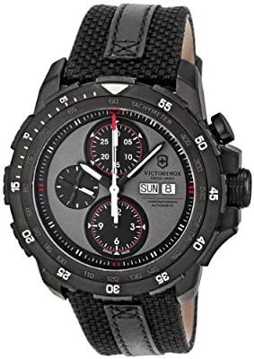 Victorinox Swiss Army Alpnach Chronograph Warm Grey Dial Mens Watch 241528