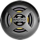 Raikko Dance Bluetooth Kevlar Lautsprecher (Bluetooth & 3,5mm Klinkenstecker, 3,5 Watt, USB, Akku), schwarz