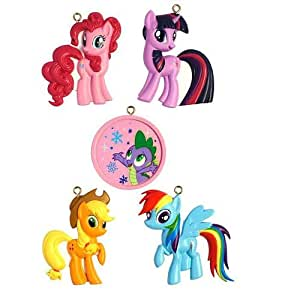 American Greetings 5-Piece Christmas Ornament Set - My Little Pony