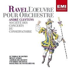 クリュイタンス指揮/パリ音楽院管弦楽団 ラヴェル:逝ける王女のためのパヴァーヌ他 のAmazonの商品頁を開く
