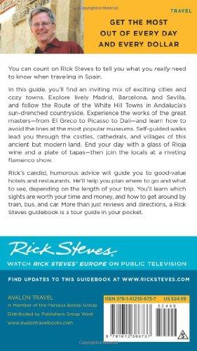 Rick Steves Spain 2016, Steves, Rick, Good Condition, Book