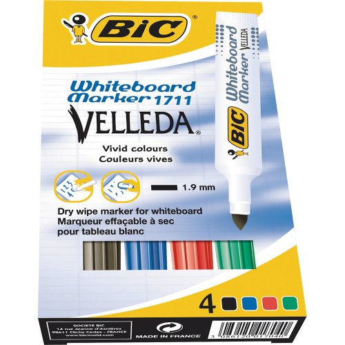 bic-velleda-pack-de-4-feutres-effacable-a-sec-couleurs-assorties
