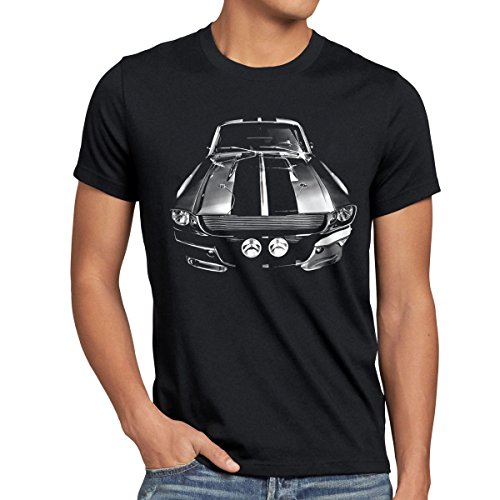 style3 Eleanor T-shirt da uomo muscle car mustang, Dimensione:2XL