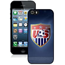 buy Iphone 5S Case,Brand New Usa Soccer 11 Black Case Cover