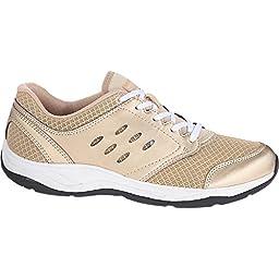 Vionic Venture Womens Mesh Athletic shoe Gold - 6.5 Medium