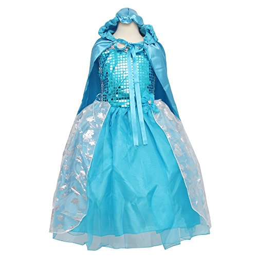 Classy Frozen Princess Elsa Baby Costume Party Dress - 12M