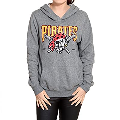 Pittsburgh Pirates Womens Athletic Pullover Hoodie