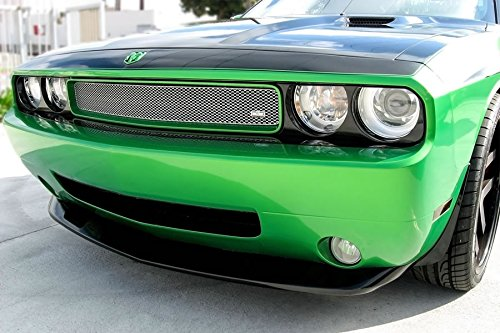 GrillCraft DOD3010S MX Series Silver Upper 1pc Mesh Grill Grille Insert for Dodge Challenger (2014 Dodge Challenger Grill compare prices)
