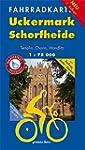 Fahrradkarte Uckermark - Schorfheide:...