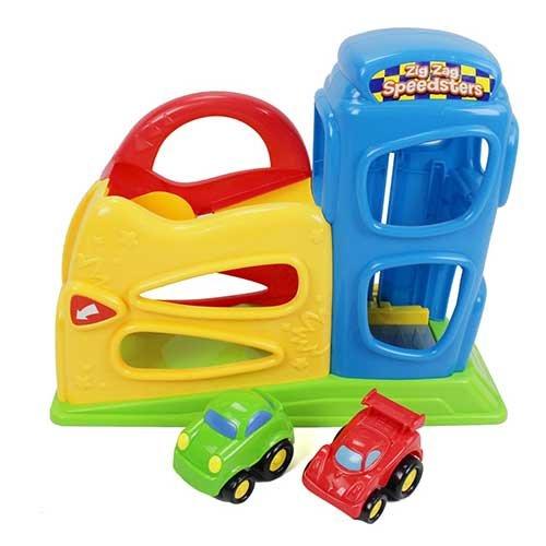 Kidoozie Zig Zag Speedsters Garage - 1