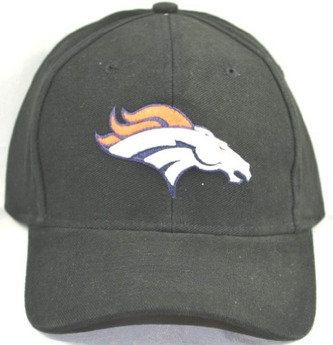 NFL Denver Broncos Adjustable Cap Hat-black by nfl