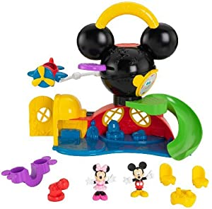 Disney Mickey Mouse: Fly N Slide Clubhouse