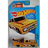 Hot Wheels 2015 HW City Custom '62 Chevy 72/250, Light Orange (Color: Pearl Dark Yellow)