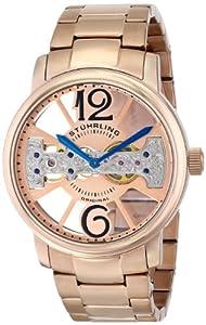 Stuhrling Original Men's 785B.03 Classic Winchester County Elite Analog Display Mechanical Hand Wind Rose Gold Watch
