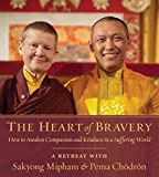 img - for The Heart of Bravery: A Retreat with Sakyong Mipham and Pema Chodron book / textbook / text book
