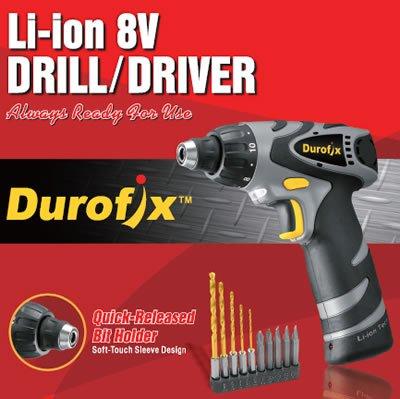 Durofix 4v Cordless Screwdriver