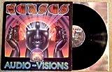 KANSAS Audio Visions LP Vinyl VG+ Cover VG++ 1980 Sterling