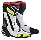 alpinestars(アルパインスターズ) SMX PLUS ブーツ BLACK WHITE YELLOW FLUO 44 (28.5cm)