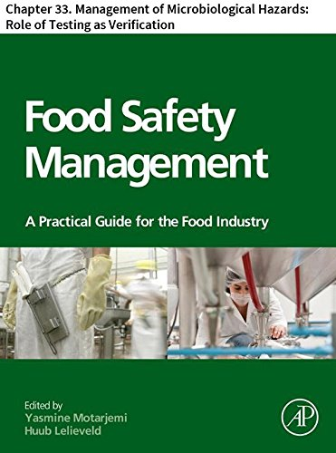Food Safety Management: Chapter 33. Management of Microbiological Hazards: Role of Testing as Verification