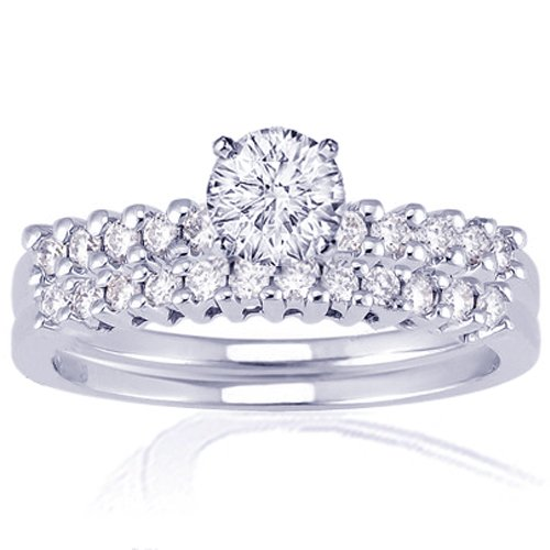 1.35 Ct Round Cut Diamond Engagement Wedding