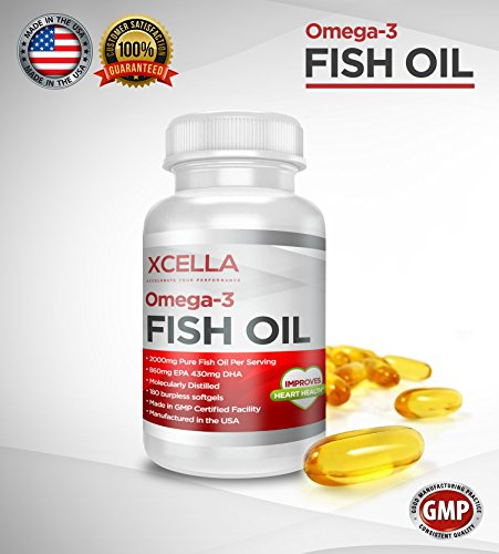 1 rated fish oil xcella 39 s omega 3 fish oil 2000 mg for Top rated fish oil