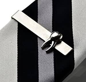 Amazon.com: Tooth Tie Clip, Wedding Favor, Groomsmen Gift, Gift Box ...