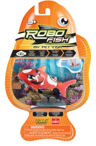 Goliath Robo Fish Reef Red Shark Toy - 1