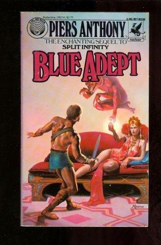 Blue Adept (Apprentice Adept, No. 2)