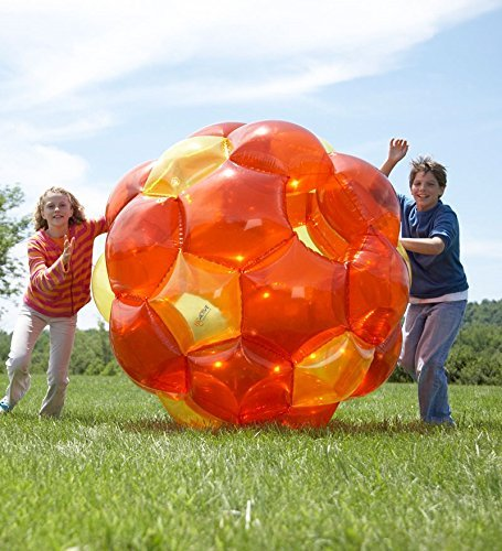 GBOP (Great Big Outdoor Playball) Incred-a-Ball, Inflatable - Orange and Yellow - 65