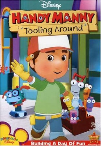 Handy Manny Tooling Around DVD - Handy Manny Tool Toys