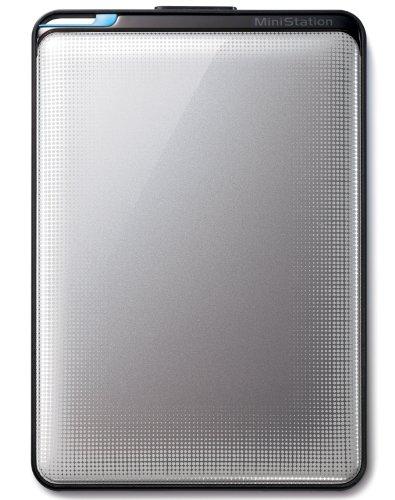 BUFFALO ターボPC EX2 USB3.0 ポータブルHDD 1TB シルバー HD-PNT1.0U3-SC