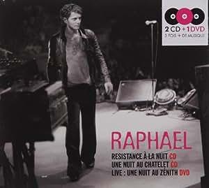 Resistance à la nuit / Une nuit au Châtelet / Live au Zénith (Coffret 2 CD + 1 DVD)