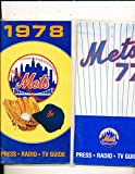 1978 New York Mets Press Guide em only one listed
