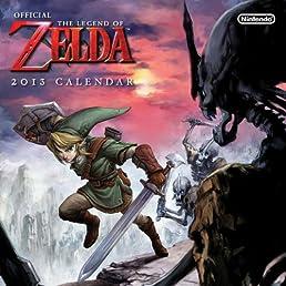 The Legend of Zelda 2013 Wall Calendar