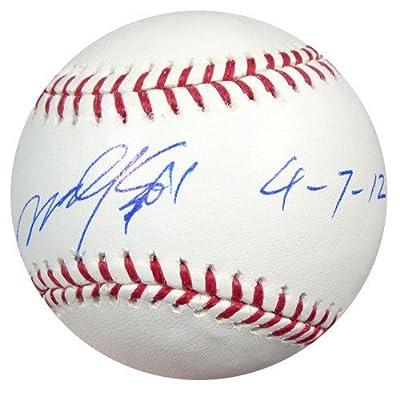 Munenori Kawasaki Toronto Blue Jays Autographed MLB Baseball 4-7-12 - PSA/DNA Authentic